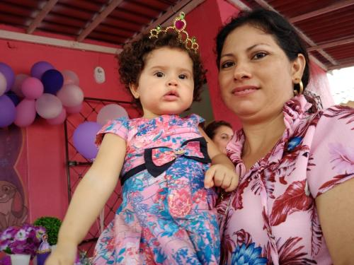 MINHA SELFIE | Adriana Azevedo comemorando 1 ano da pequena Alice