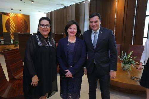 Em encontro do MP, com Raquel Dodge, Wilson elogia debate de gênero na Justiça