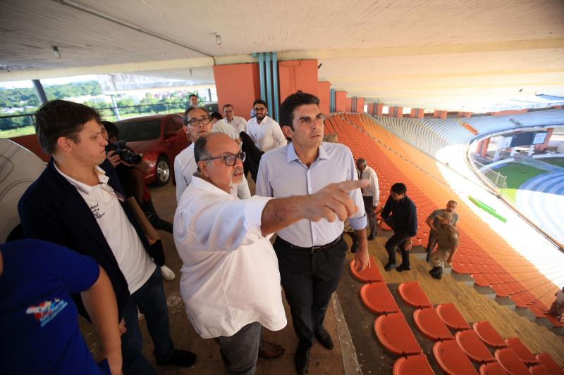 Para jogos do campeonato paraense, Mangueirão terá policiamento 24h