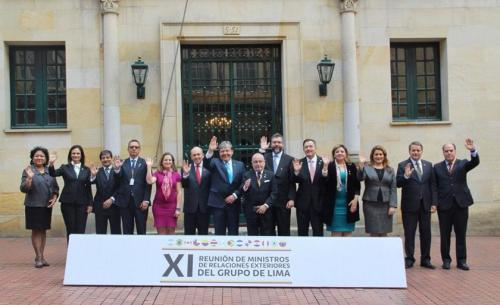 Grupo de Lima defende eleições na Venezuela e rejeita intervenção