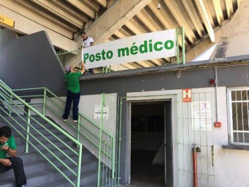 Susam monta posto médico no Sambódromo para os dias de desfile
