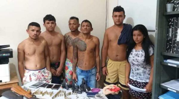 Quadrilha é presa por execuções e tráfico de drogas em Figueiredo