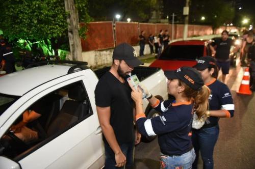 Número de motoristas flagrados sob efeito de álcool no carnaval cresce 150%, aponta Detran-AM
