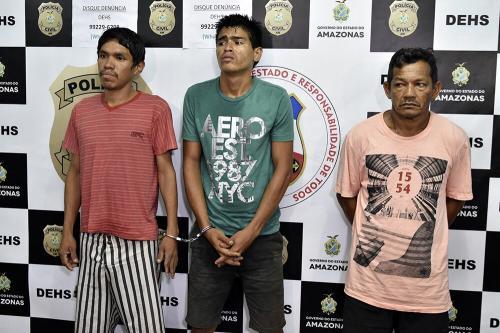 Polícia prendehomempelo crime de feminicídio daex-companheira