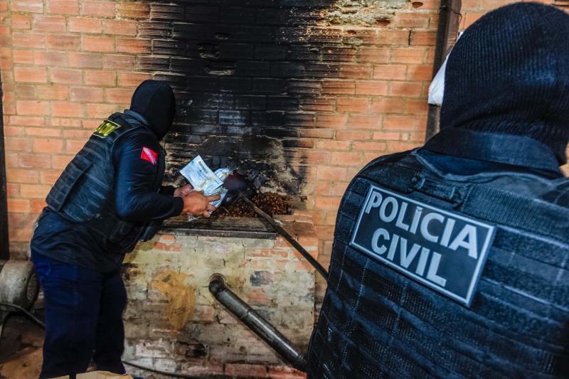 Polícia Civil do Pará incinera uma tonelada de drogas