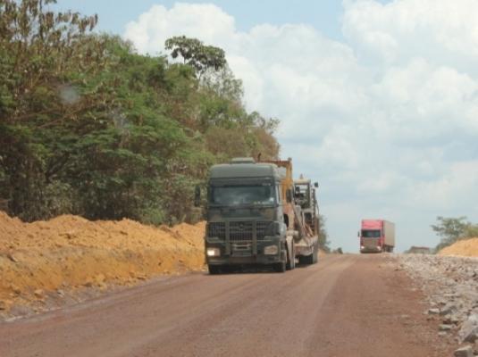 Em Santarém, trecho da BR-163 será interditado para execução de obras de saneamento