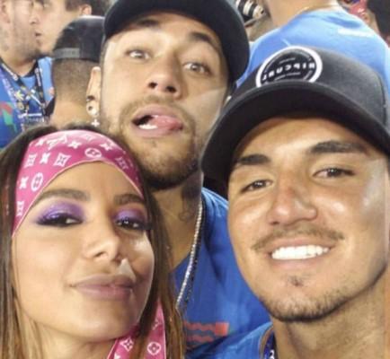 Neymar fala sobre romance de Anitta e Gabriel Medina: 'Eu shippo'