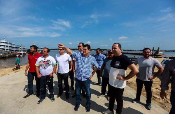 Alfredo diz que desmonte dos portos no Amazonas 'é um ato irresponsável'