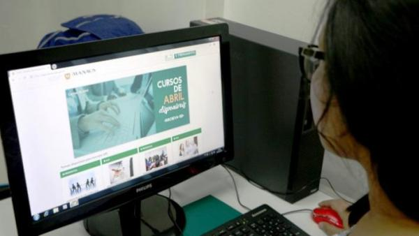 Prefeitura de Manaus abre inscrições para 30 cursos gratuitos