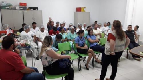 Visa Manaus realiza curso de manuseio e produção de alimentos