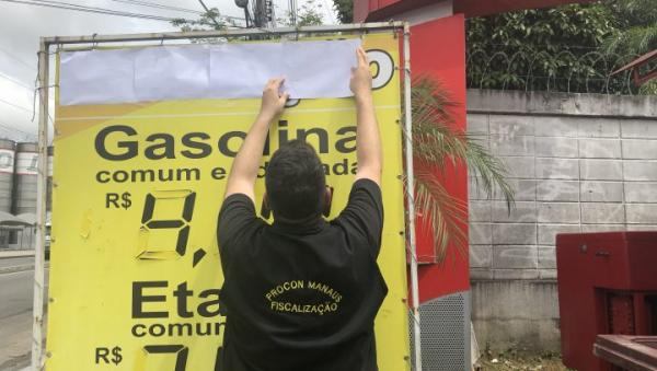 Em Manaus, postos terão dez dias para justificar aumento no preço da gasolina