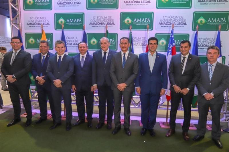 Pará participa do 17º Fórum de Governadores da Amazônia Legal