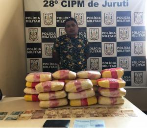 Homem é preso com 27kg de oxi em Juruti (PA)