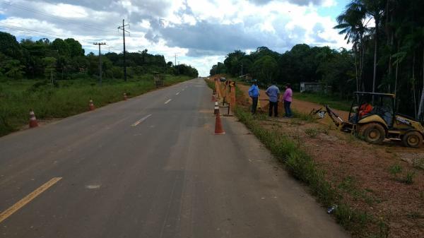 Rodovia AM-070, próximo a Manacapuru, não desabou, diz Seinfra