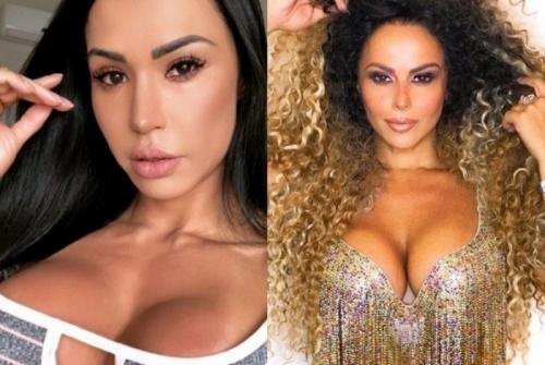 Gracyanne Barbosa volta a alfinetar Viviane Araújo: 'Fã do meu marido'
