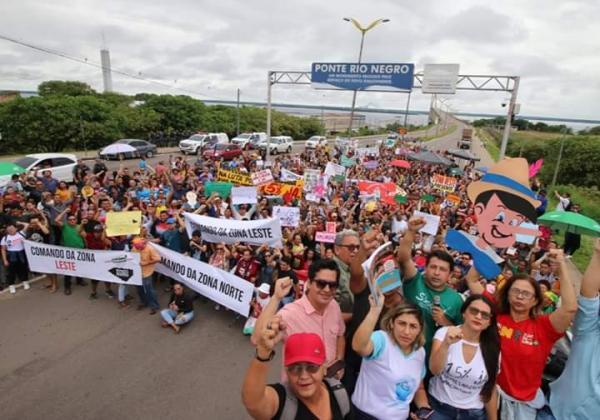 Governo do AM recebe sindicatos para negociar fim da greve nesta terça (23)
