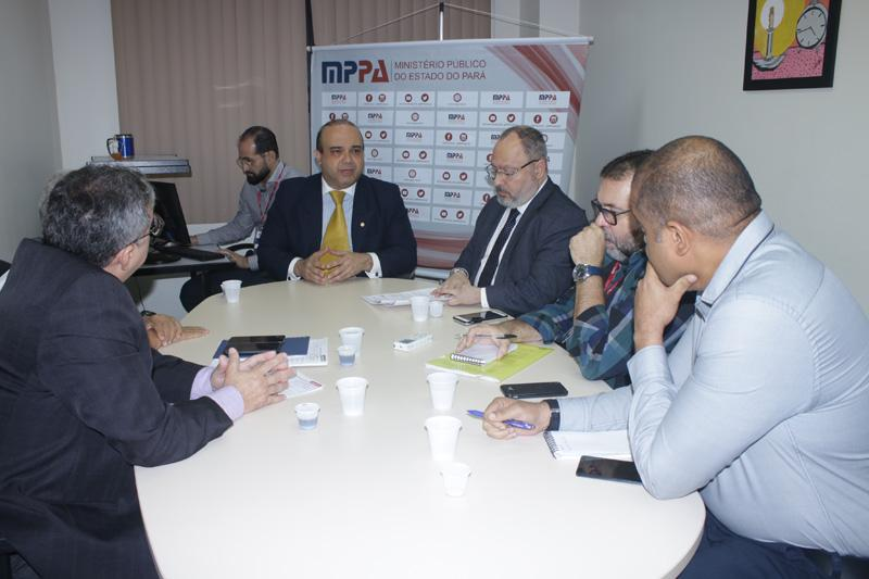 Qualidade e abastecimento de água em Belém é tema de reunião no MPPA