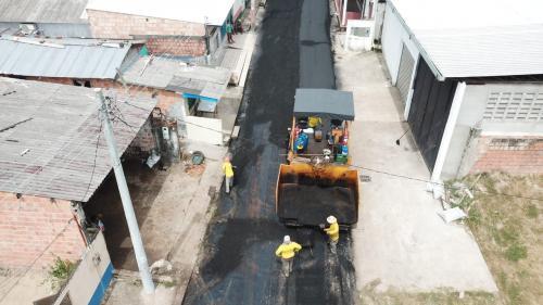 Manacapuru recebe asfaltamento em mais de 15 bairros