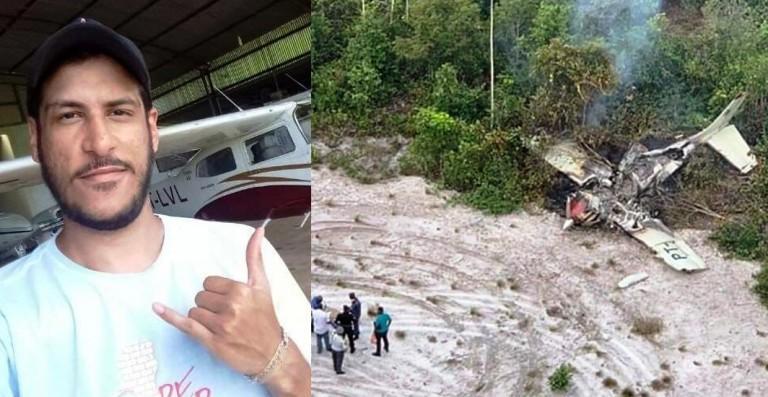 Corpo encontrado próximo a avião do Pará, que caiu no Suriname, pode ser de piloto