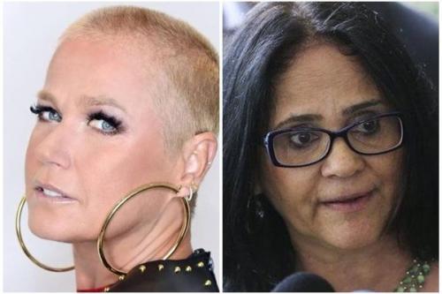 Xuxa detona Damares após declaração polêmica sobre filme da 'Frozen'