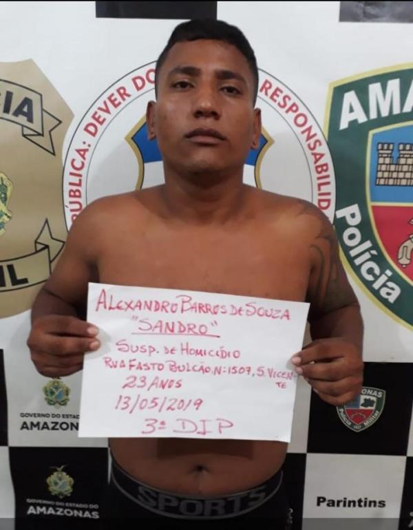 Polícia prende suspeito de matar fisioterapeuta em Parintins
