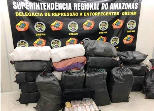 PF cumpre 12 mandados de prisão por tráfico internacional de drogas no AM