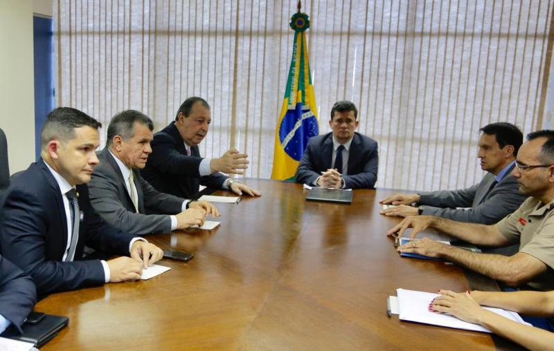 Moro reúne com Omar Aziz e deputados do Amazonas