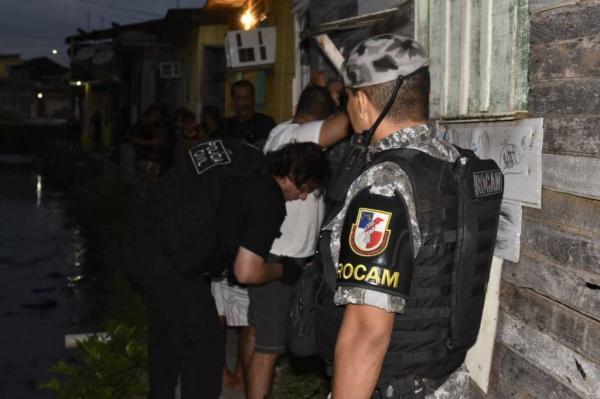 SSP-AM deflagra operação para combater tráfico de drogas, em Manaus