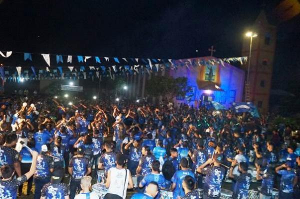 Boi Caprichoso realiza show inédito na Vila Amazônia, em Parintins