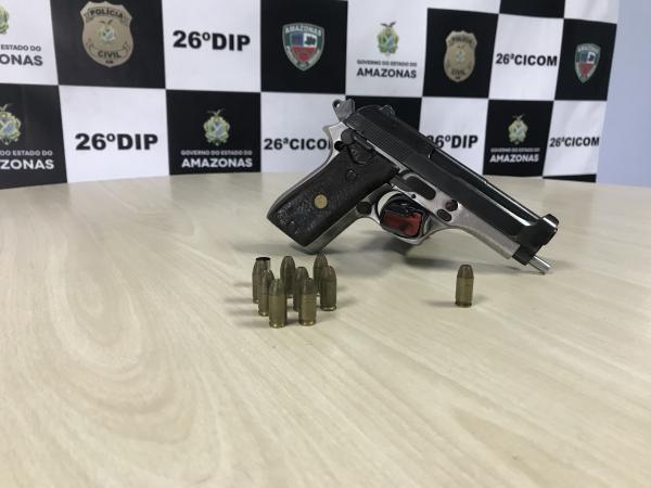 Preso dono da arma que deixou adolescente ferida em escola de Manaus