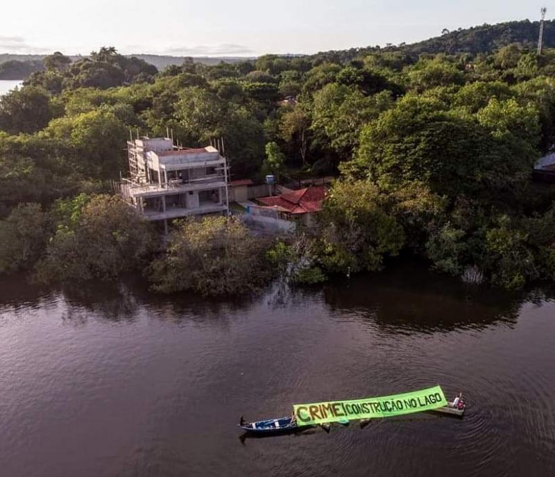 Justiça determina paralisação de obras no Lago Verde, em Santarém (PA)