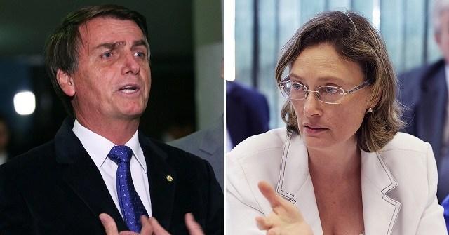 Bolsonaro pede desculpas a Maria do Rosário após determinação judicial