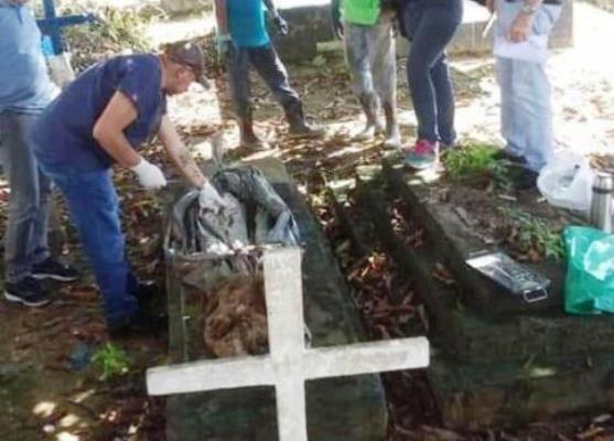 Após solicitação do MP-AM, Polícia exuma corpo de jovem assassinado em 2015
