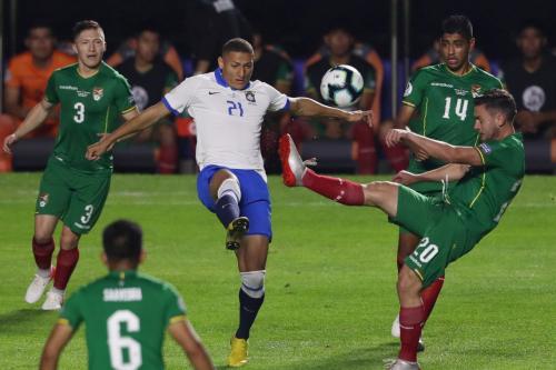 Copa América: Brasil e Peru disputam hoje (22) 1º lugar do grupo A