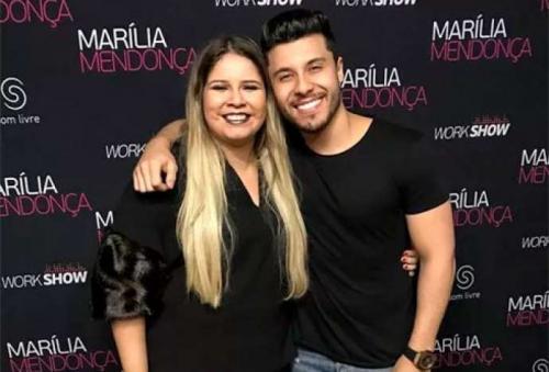 Marília Mendonça está grávida do namorado Murillo Huff, diz Leo Dias
