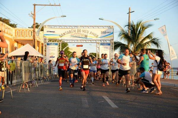 Primeira corrida em homenagem aos 358 anos de Santarém reúne 450 atletas