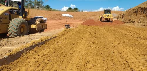 Seinfra reinicia serviços de terraplanagem na Rodovia AM-070