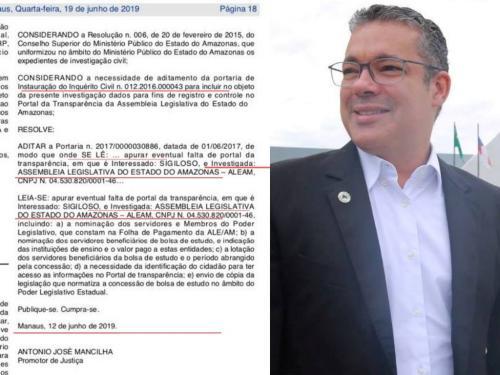 Com ALE/AM sob investigação do MP, Josué Neto diz que é tudo 'falso'