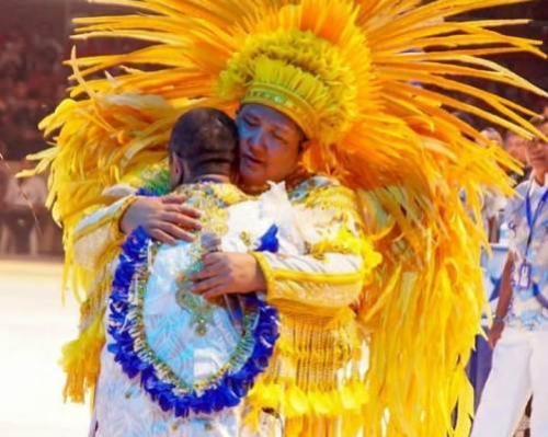David Assayagem um momento de união com o amigo Arlindo Júnior