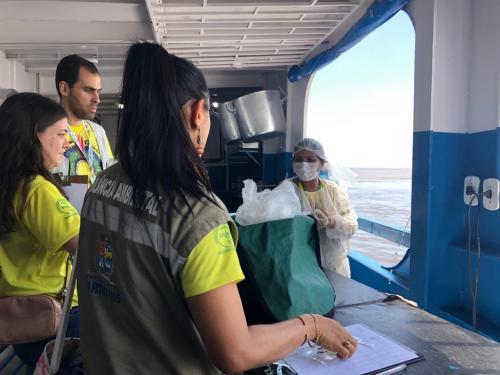 FVS emite segundo boletim de monitoramento de saúde em Parintins