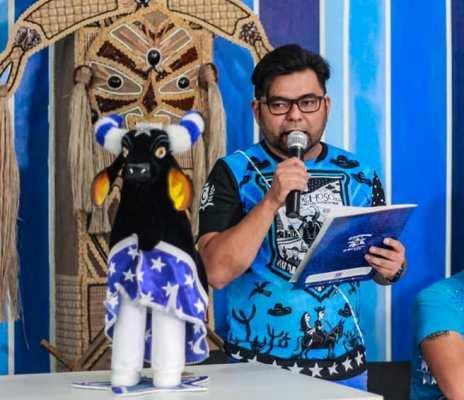 Ericky Nakanomi deixa o cargo de coordenador do Conselho de Artes do Caprichoso