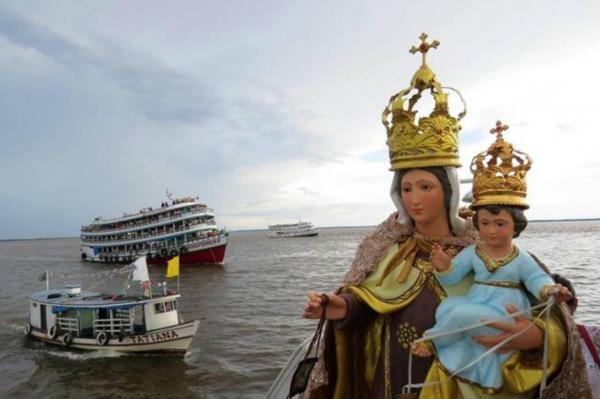 Parintins festeja padroeira, Nossa Senhora do Carmo