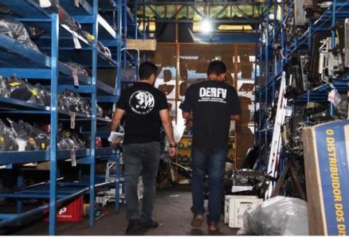 Polícia Civil fecha mais de 50 oficinas de desmanche de veículos em Manaus