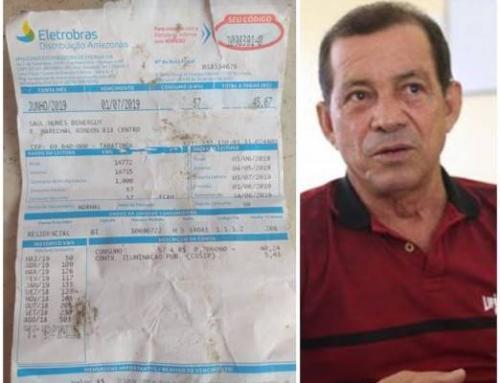 Conta de luz da casa do prefeito de Tabatinga é de apenas R$ 45