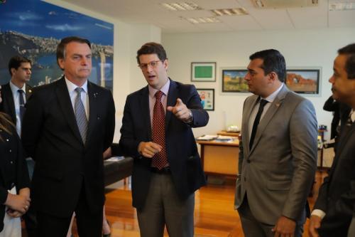 No encontro com Bolsonaro, Wilson define licenciamento da BR-319