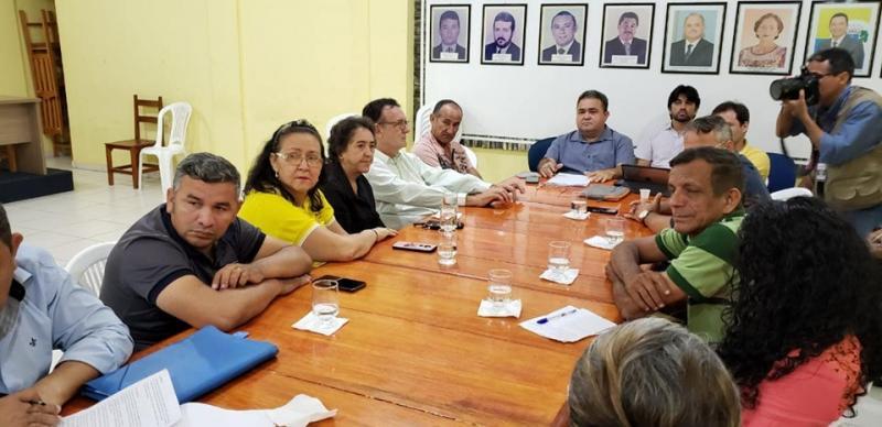 Câmara de Santarém discute sobre iluminação pública na Curuá-Una