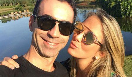 Ticiane Pinheiro dá a luz a Manuella, sua primeira filha com Cesar Tralli