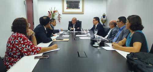 Governo apresenta ao TCE-AM situação prisional e implantação da Lei do Compliance