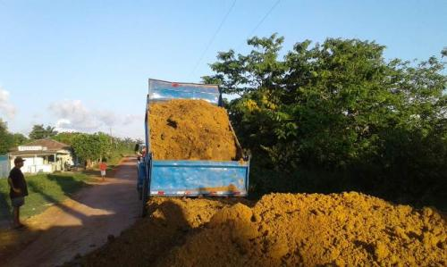Seinfra retoma obras de asfaltamento em Boa Vista do Ramos