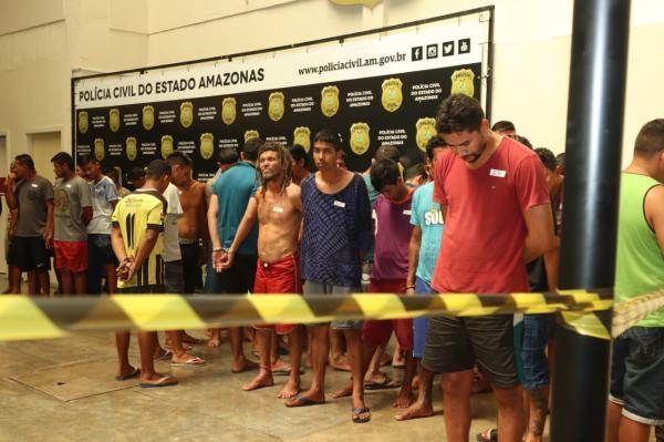 Nova fase da Operação 'Imperium' prende 60 pessoas em Manaus